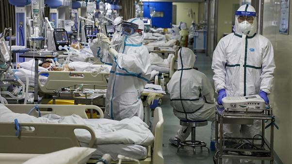 Hospital during the pandemic.