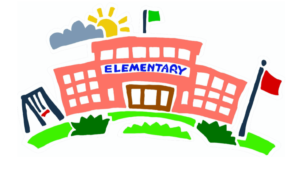 Illustration of elementary school